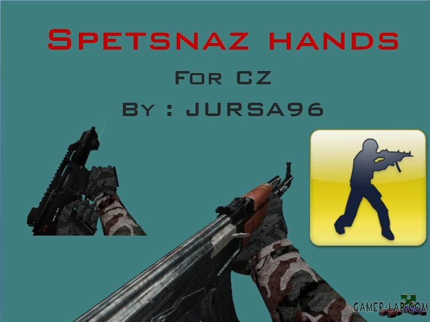 Spetsnaz Camouflage Hands
