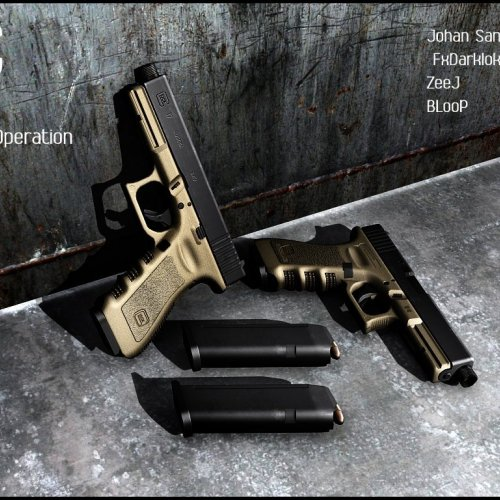 Glock 17 Desert Operation Edition