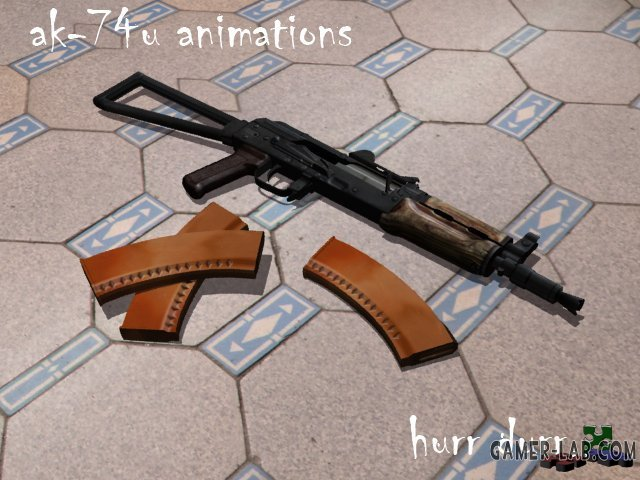 aks-74u Animations