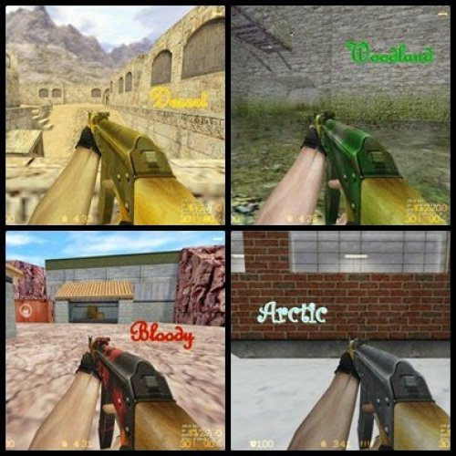 Ak-47 Remix Camo pack and Reorigin