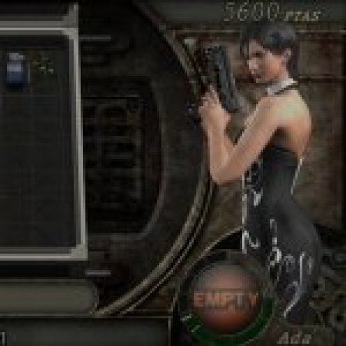 Ada Wong in Black dress