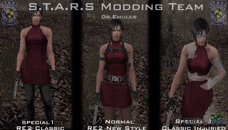 Ada in story mode pack 1