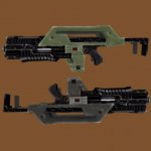 Aliens M41A Pulse Rifle New (2 skins)