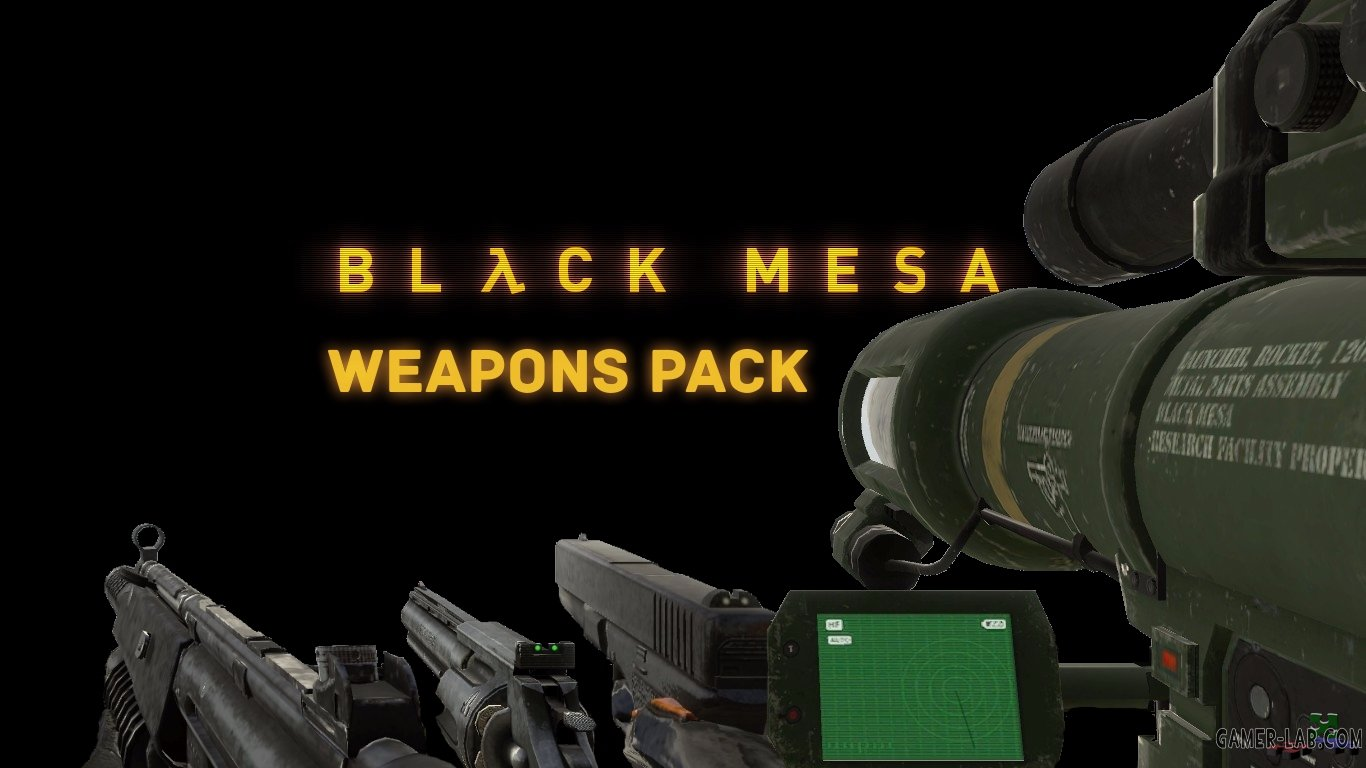 BMS Weapons pack v.1 (only v_)