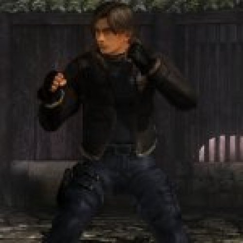 Ein as Leon S. Kennedy RE4