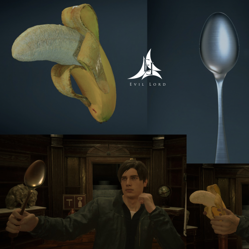 Banana Gun and Spoon Knife