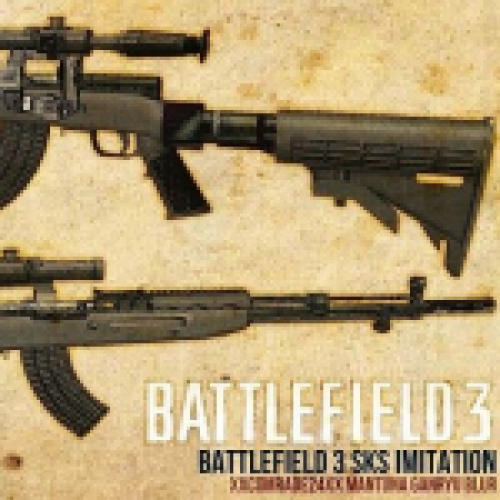 Battlefield3 SKS Imitation(only v_)
