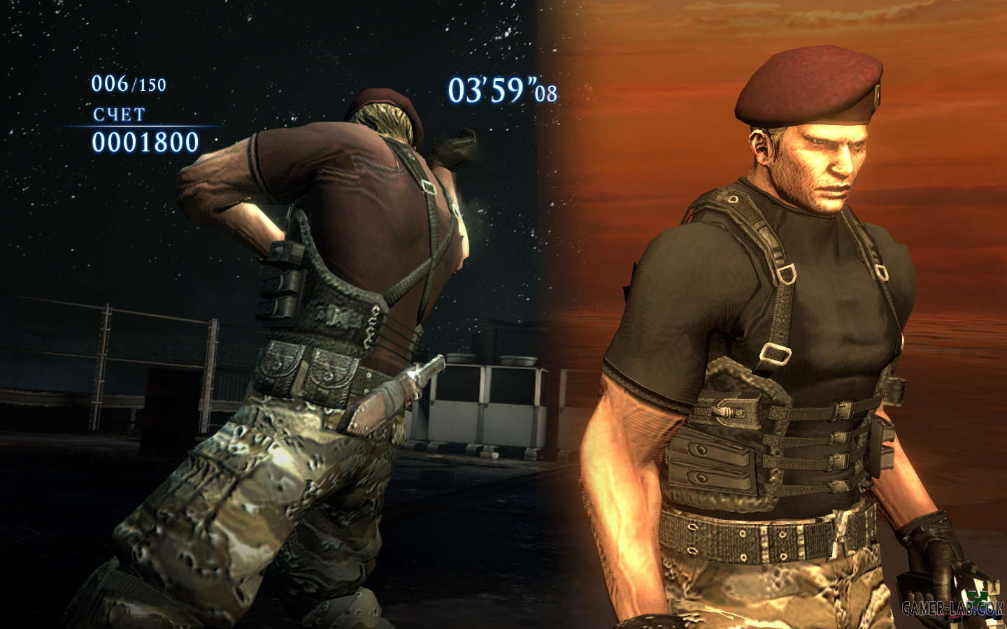 Jack Krauser with Beret RE4