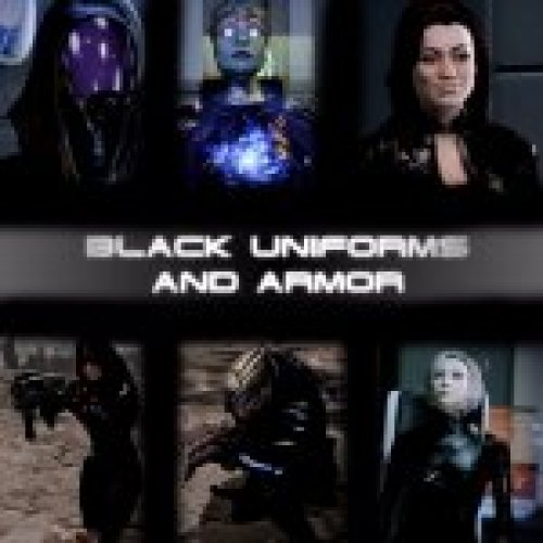 Black Uniforms and Armor