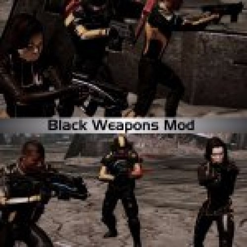 Black Weapons Mod