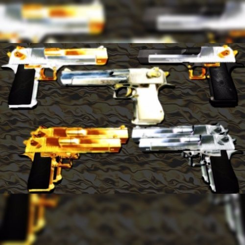 Blingy Shiny Deagle Pack
