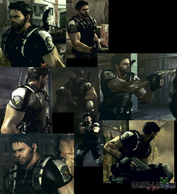 Chris BSAA in S.T.A.R.S. Reborn v.3