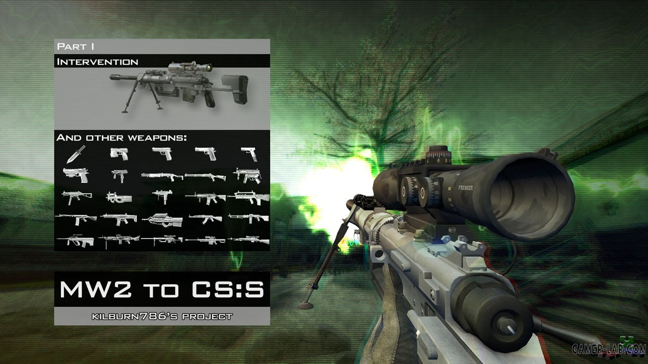CoD MW2 Weapons Pack - Packs - Counter-Strike: Source