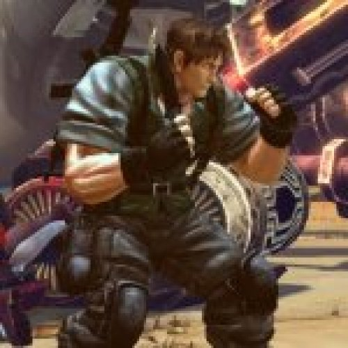 Cody as Chris Redfield S.T.A.R.S.