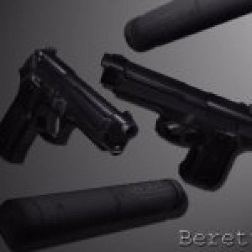 DC's Beretta 92FS Black (only v_)