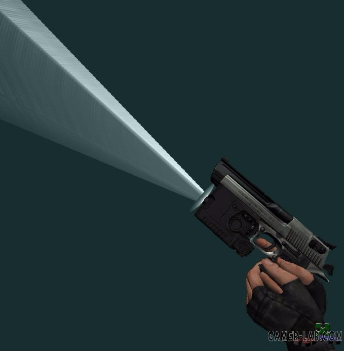 Desert Eagle With Light (only v_)