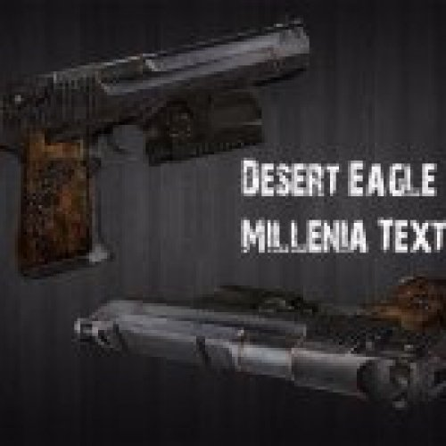 Elder Rusty Desert Eagle
