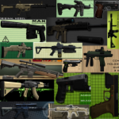 EdgeStylez Weapons Pack