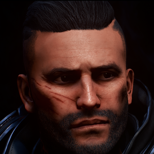 Fury Face Manly (Preset)