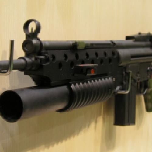 G3A3 with M203 (+chromes)