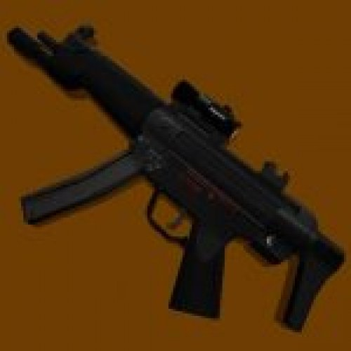 HK MP5A3 with Flashlight & Aimpoint