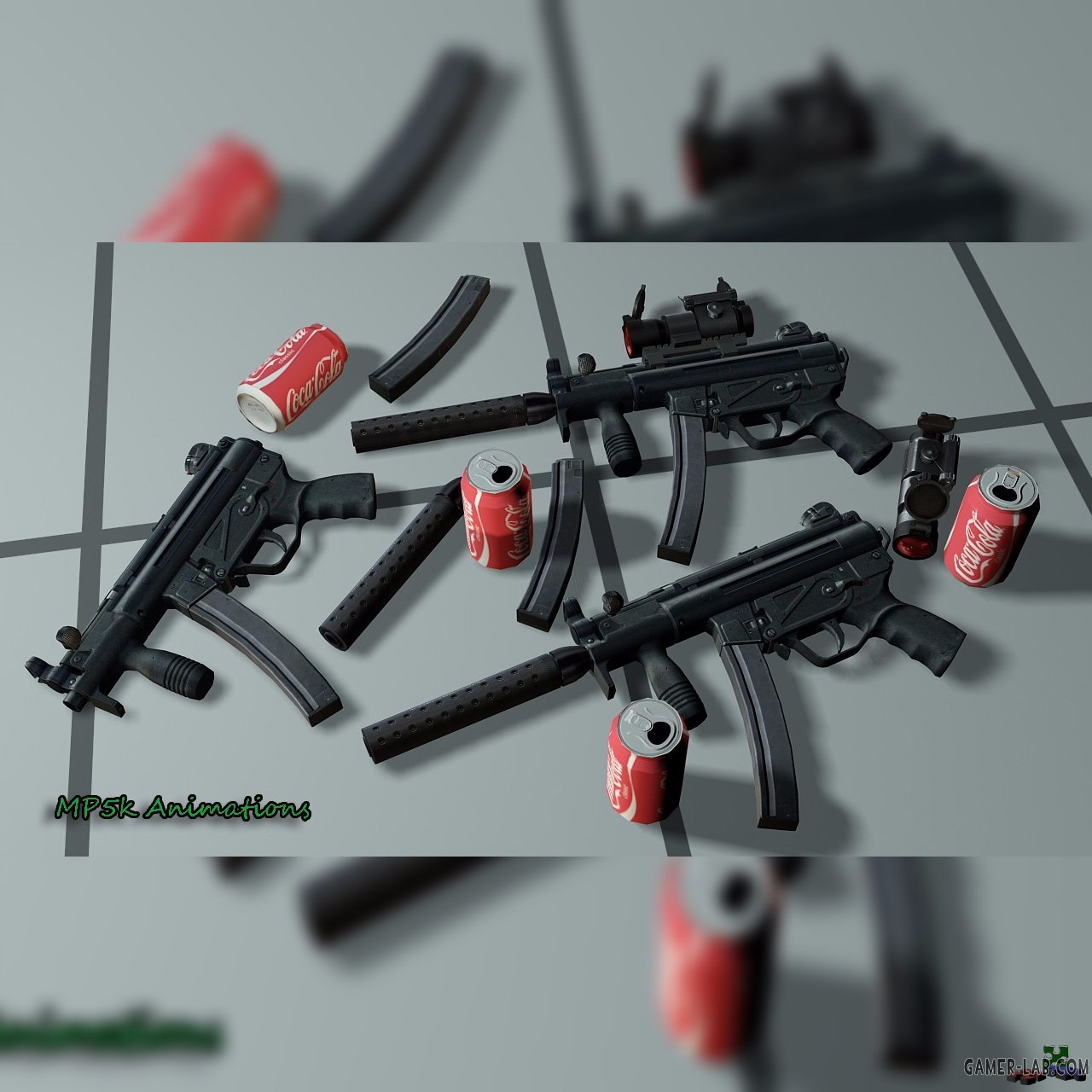 HK MP5K Full Custom