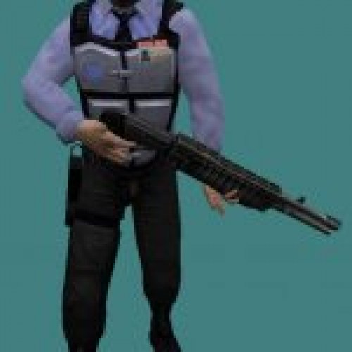 HD Barney with shotgun (fixed)