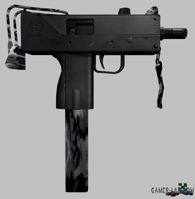 Urban Camo Ingrem Mac-10