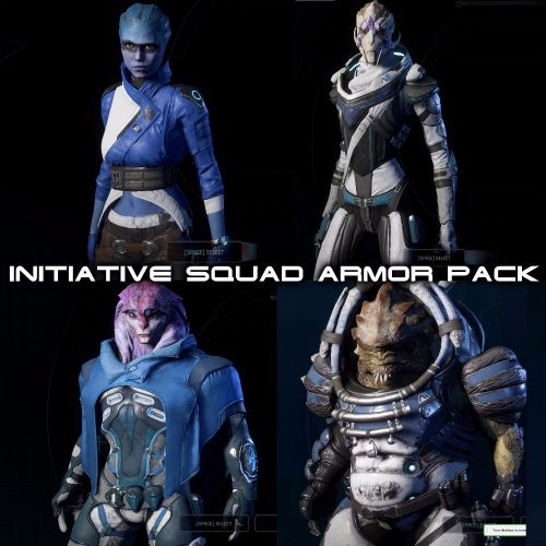 Initiative Squad Armor Pack (v.1.2)