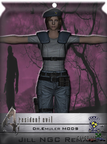 Jill Valentine RE Remake Enhanced