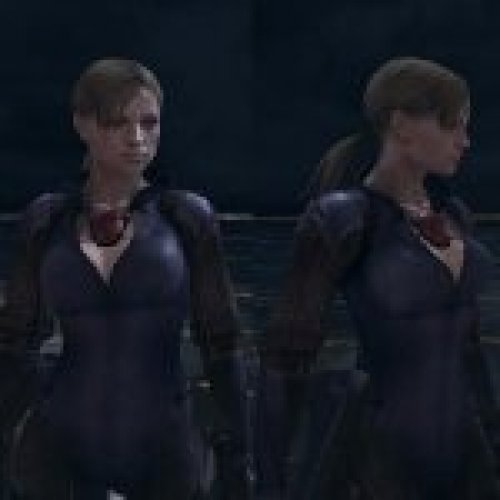 RE5 Jill Battle Suit+Pirate Replace