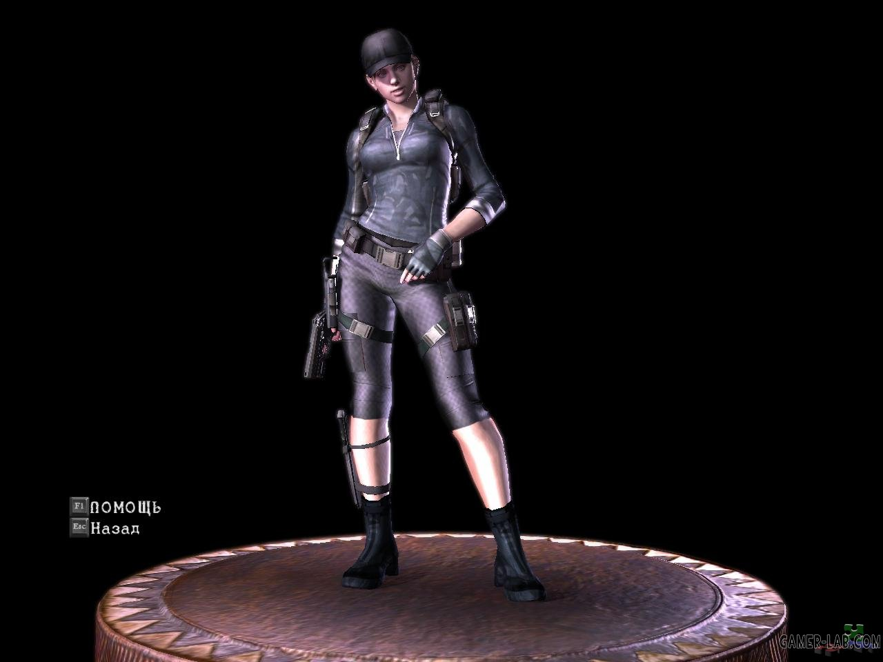 Jill black-gray shorts BSAA