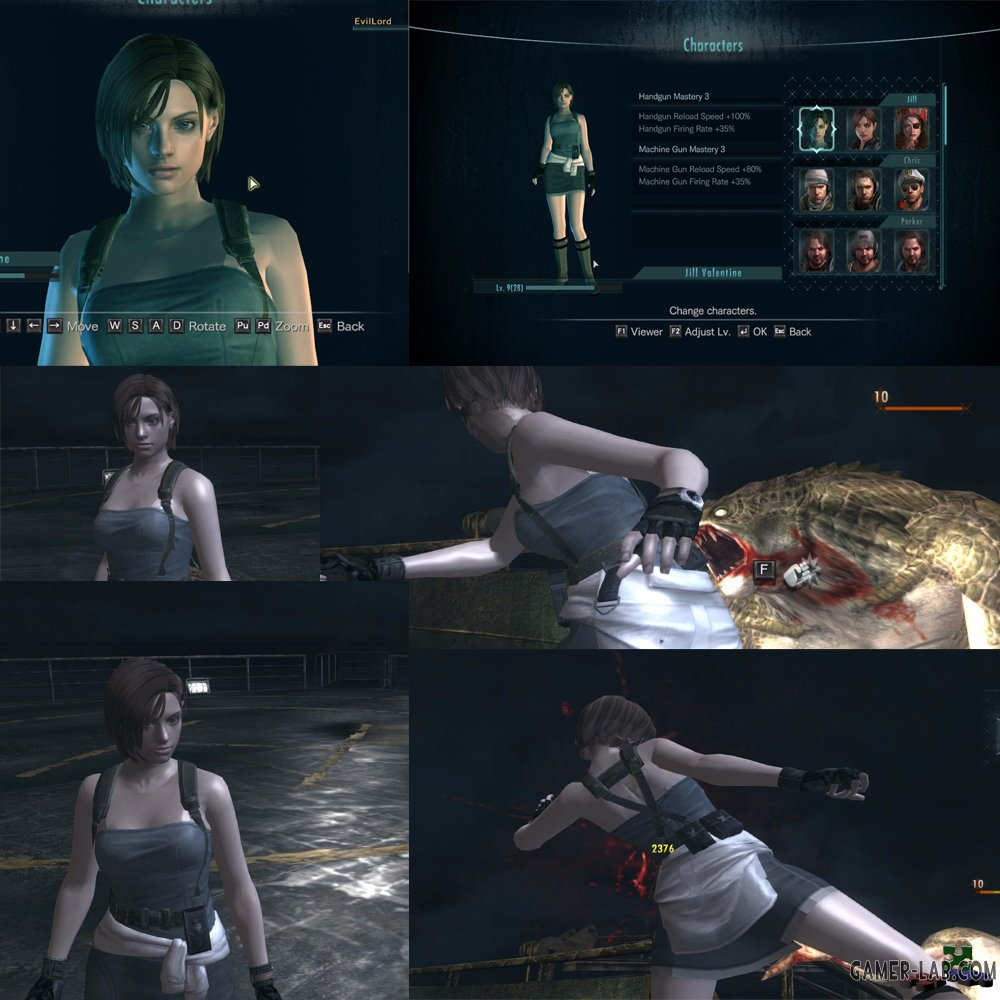 Jill in RE3\TUC Suit