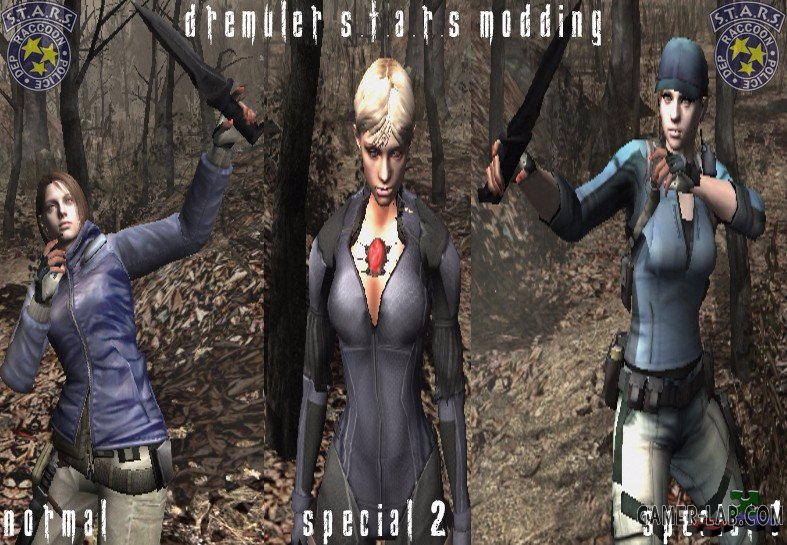 Jill in story mode pack 2