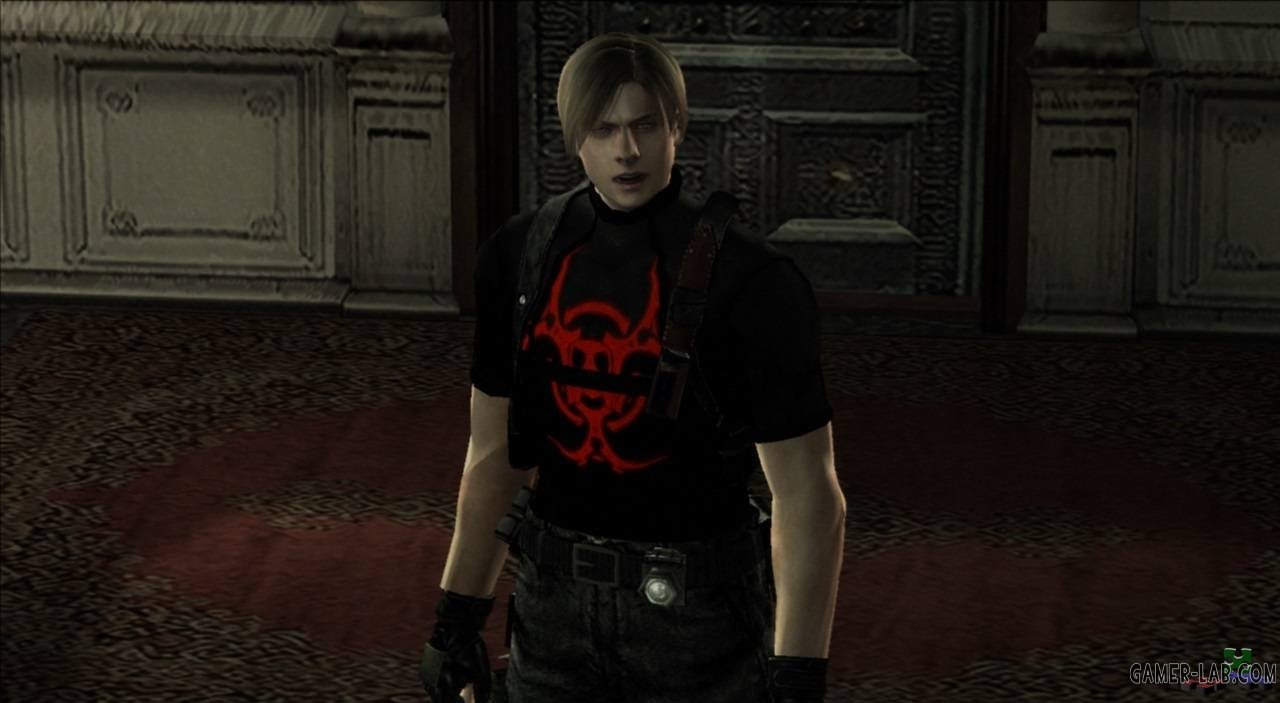 LEON RED BIOHAZARD HD