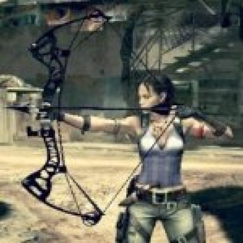 Lara Croft 2013 Bow Over Long Bow