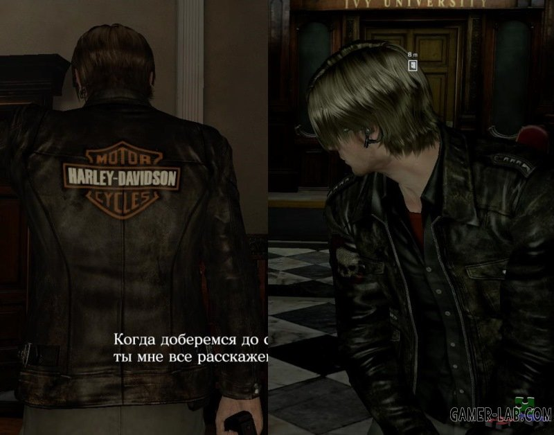Leon in Harley Davidson jacket