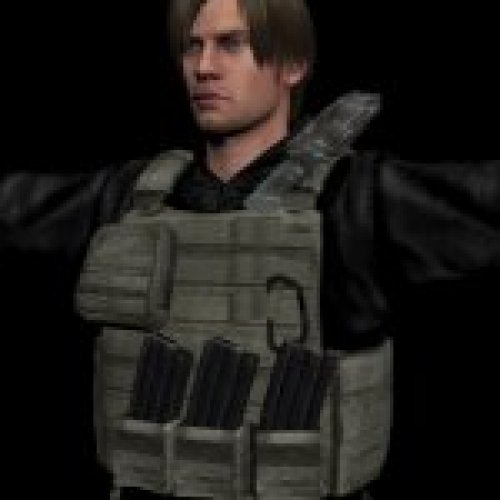 Leon in RE: Damnation Battle Suit