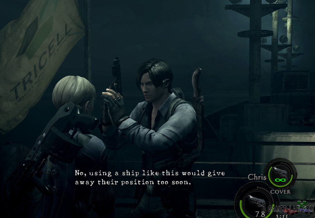 Leon S.Kennedy RE6 Asia