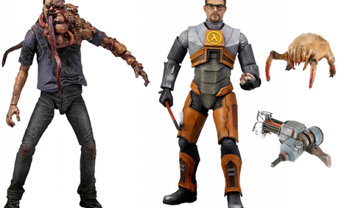 Figures Gordon Freeman and Smokers