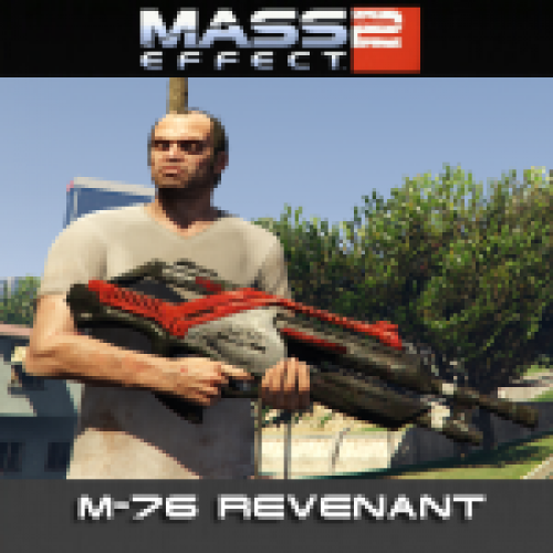 Mass Effect 2 M-76 Revenant