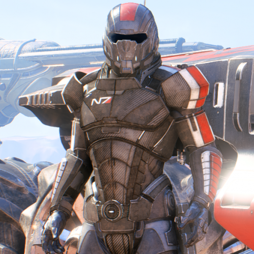 N7 Armor Dual stripes