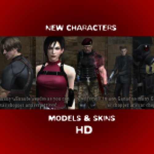 New Characters Models Skins And Other HD