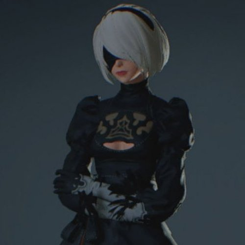 2B (Nier Automata) - Claire and Ada