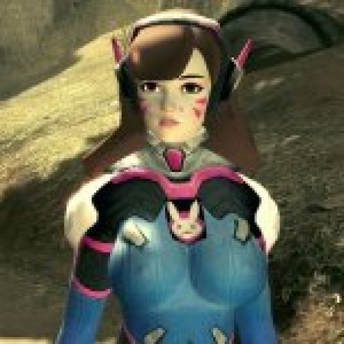 D.VA (Overwatch) Curvey