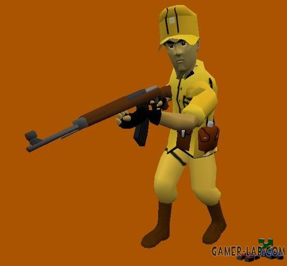soldier yellow