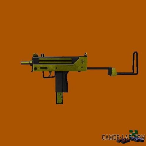 golden two tone mac-10