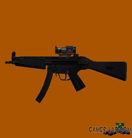 HK MP5A4 with Aimpoint