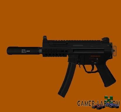 HK MP5k with Silencer