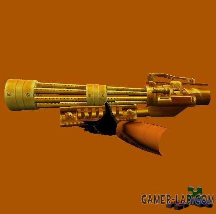 golden minigun